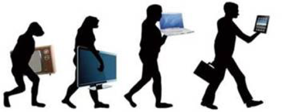 The change happening in information technology from primate to human
