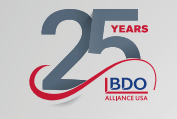 BDO alliance BRN 25 years