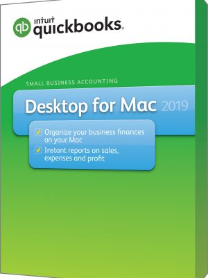 intuit desktop Mac Apple 2019 version