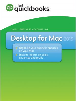 intuit desktop Mac 2019 version
