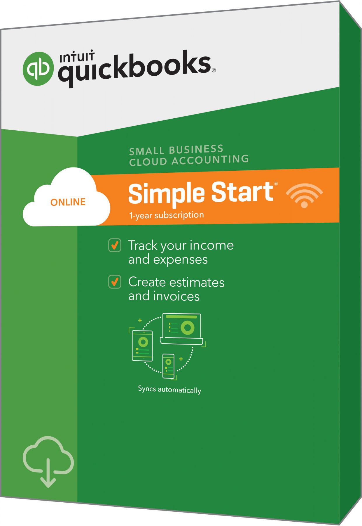 intuit online simple start version