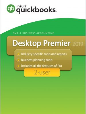 intuit desktop premier 2019 2 user version