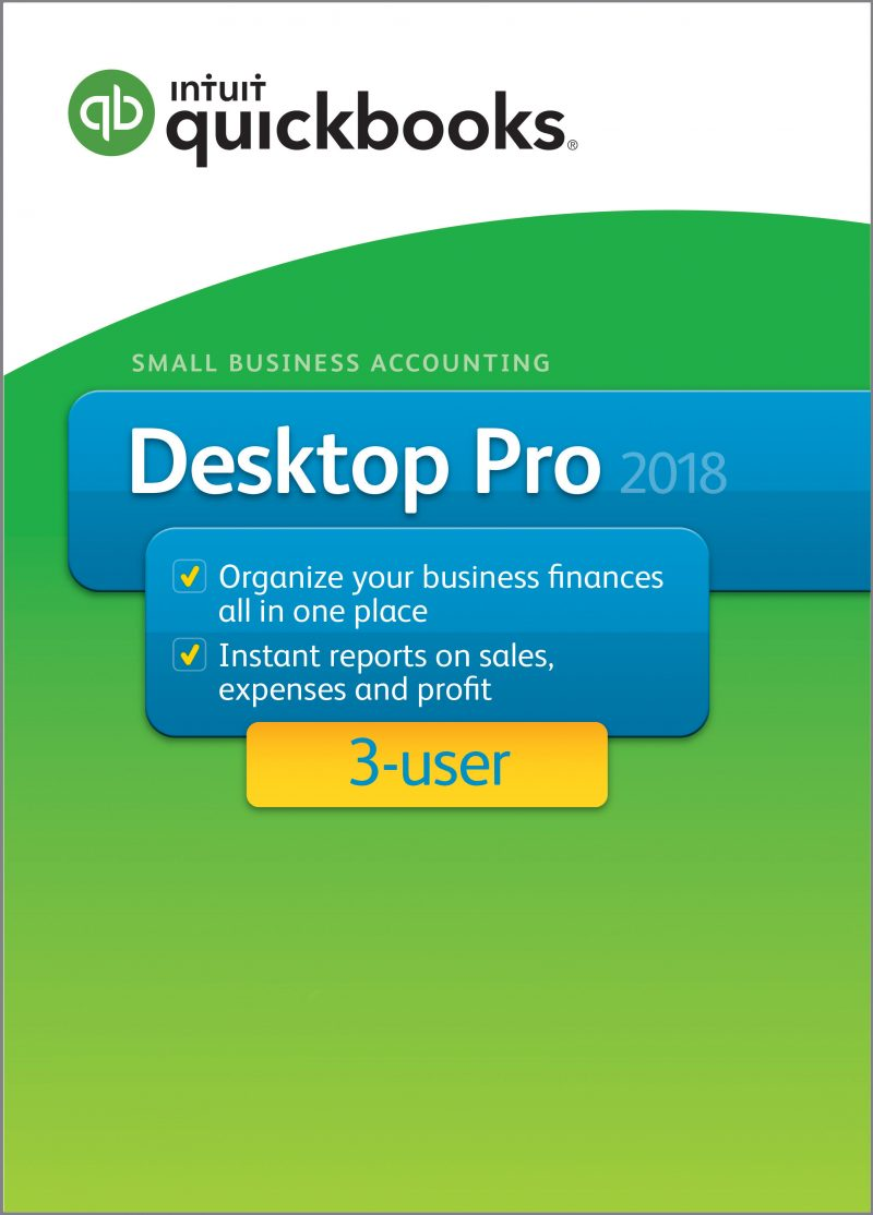 intuit desktop premier 2018 version 3 user