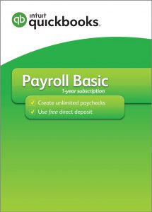Image of packaging of Payroll Basic